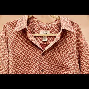 Armani Exchange Mens Large shirt